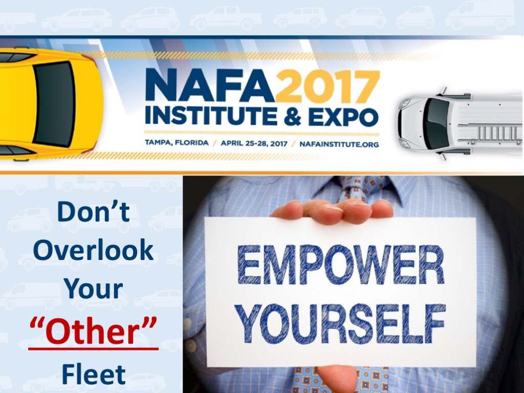 Empower Yourself - Don't Overlook Your Other Fleet